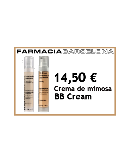 Mimosa Pack Regenerating Cream + BB cream