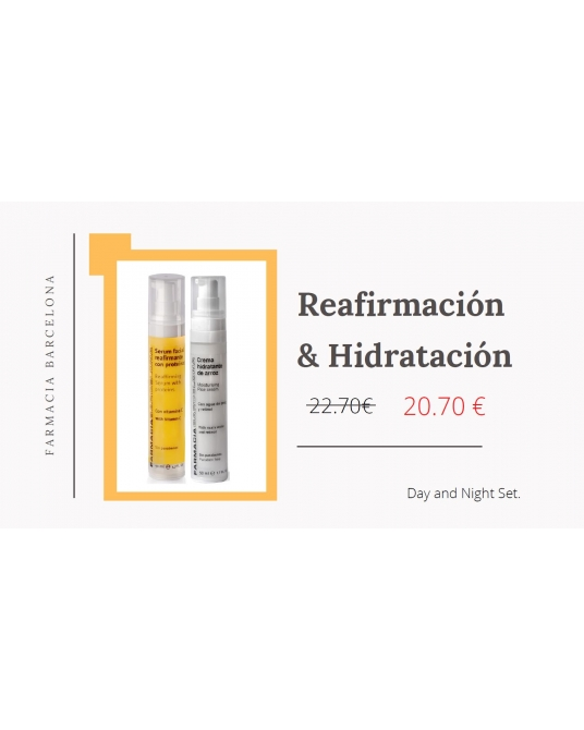 Pack Moisturising Rice cream + Reffirming Serum with proteins