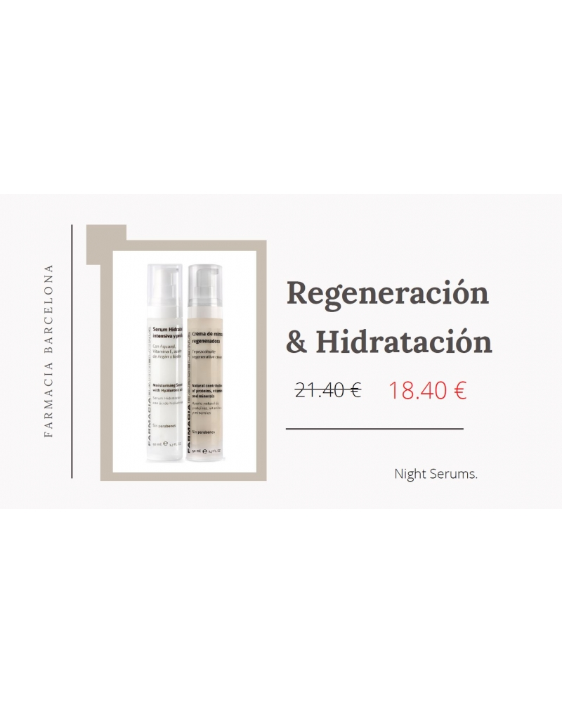 Serum Pack Deep Hydration Regenerating Cream + Mimosa