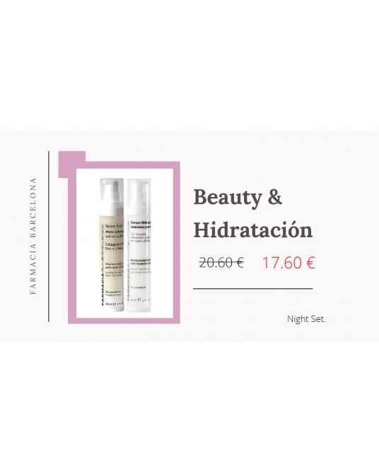 Pack Serum Hidratació Profunda + Serum Flash