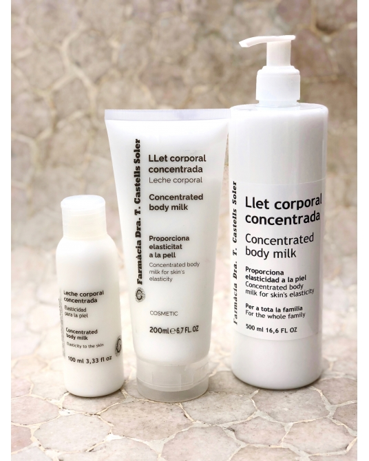 Concentrated body milk 100 ml