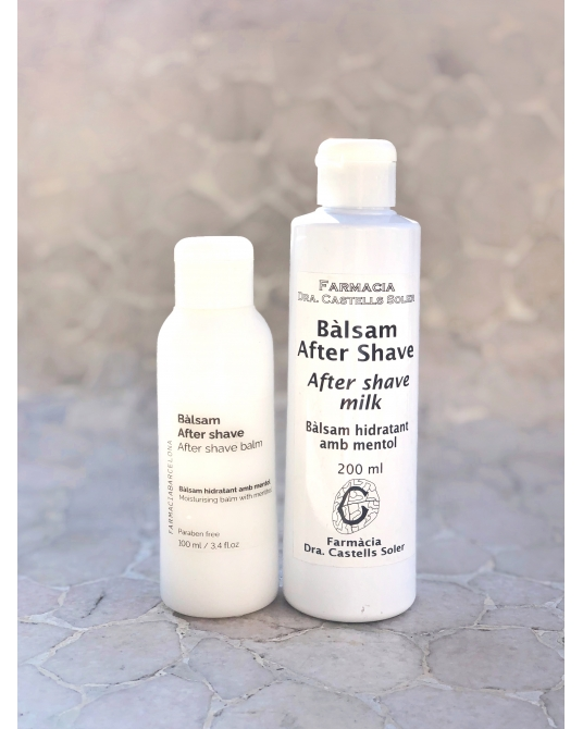 After shave moisturing and protector balm
