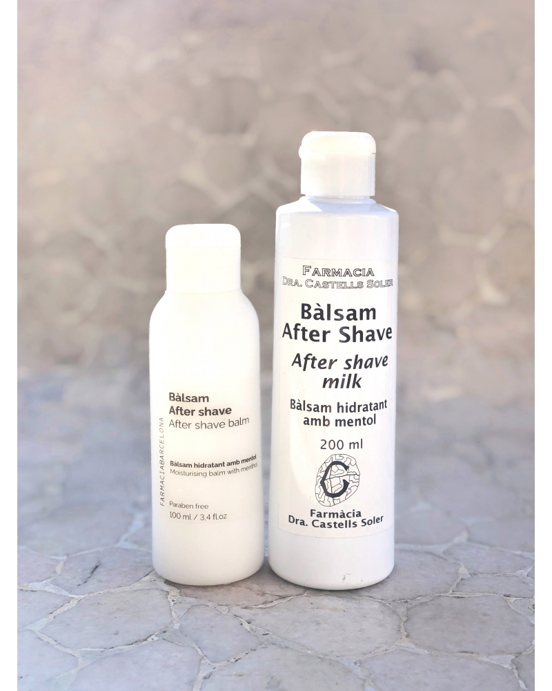 AFTER SHAVE BALM. MOISTURIZING AND PROTECTOR