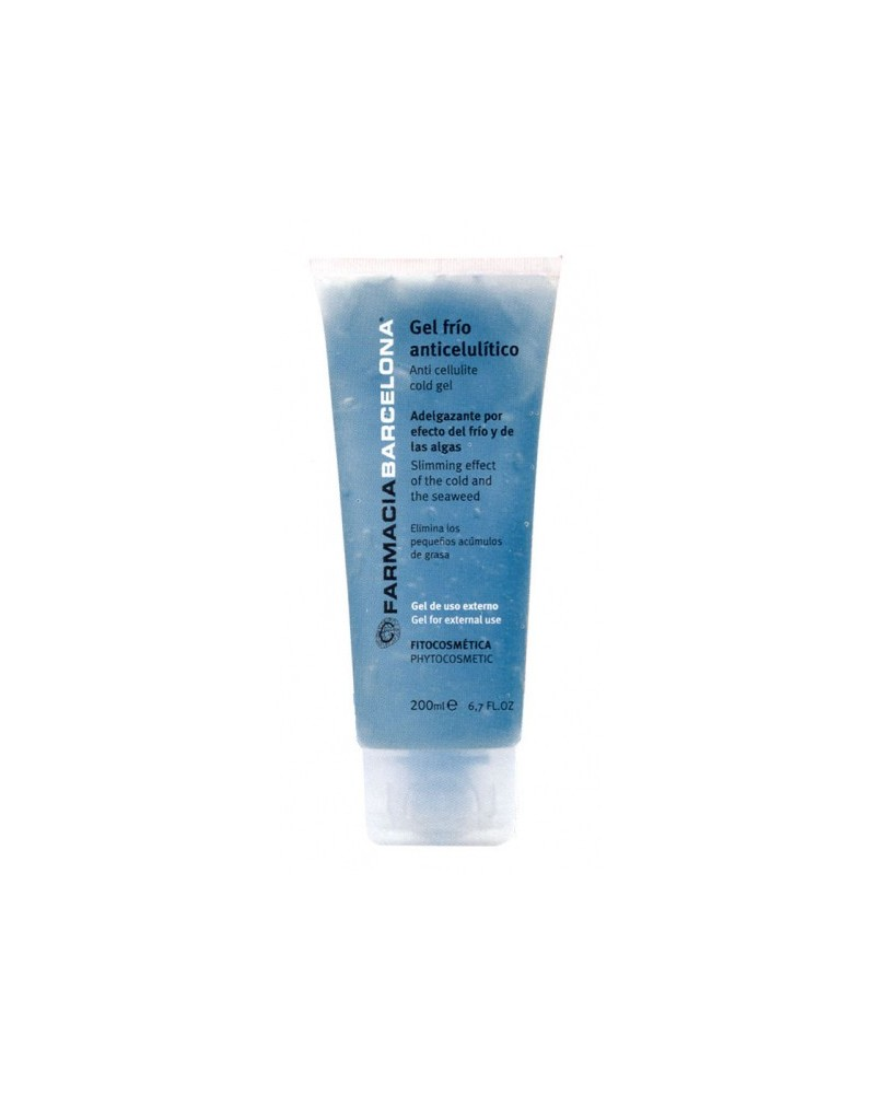 Anti cellulite cold Gel 200 ml