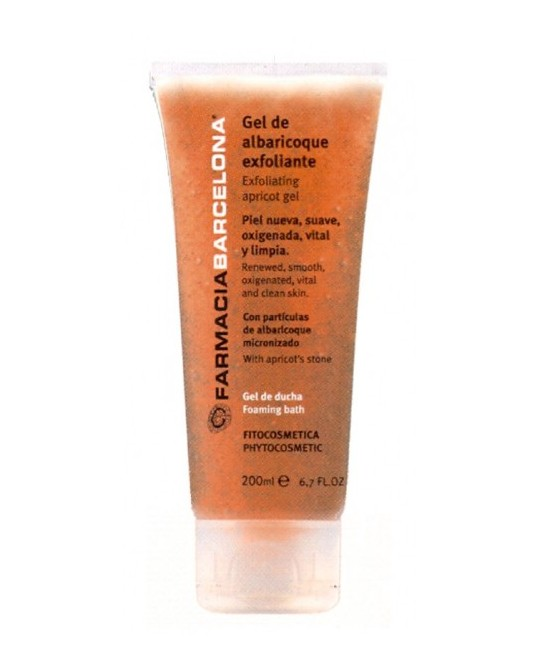 Gel d'albercoc exfoliant 200 ml