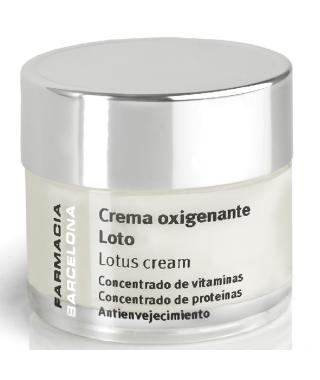 Crema oxigenante de Loto 50 ml