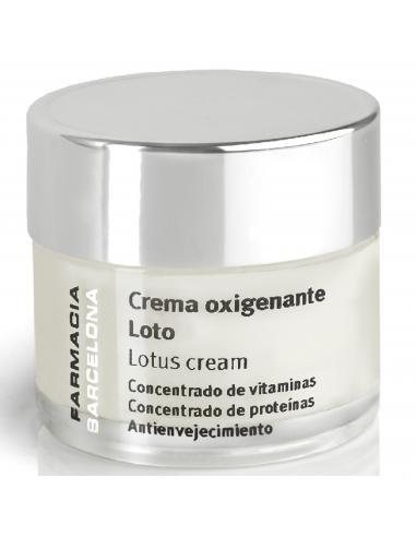 Crema oxigenante de Loto