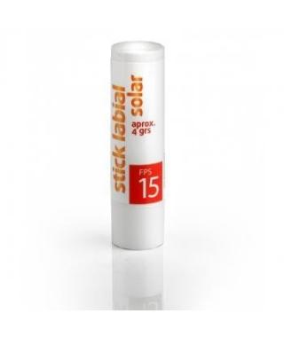 Stick labial con protector solar FPS 15