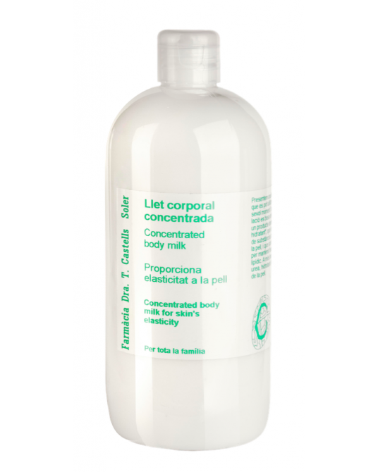 Concentrated body milk 500 ml
