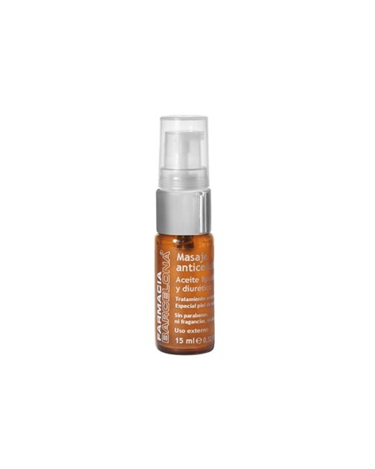 Anti-cellulite massage oil 15 ml